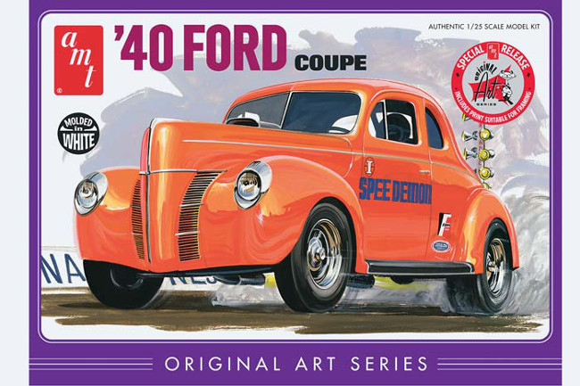 AMT730/12 1/25 SCALE '40 FORD COUPE