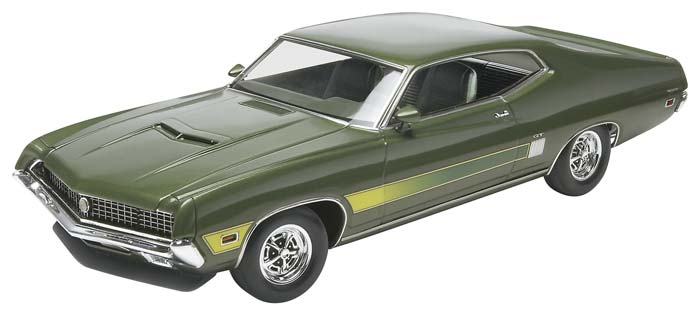 1:25 SCALE '70 FORD TORINO GT : RMX854099 - Central Hobbies