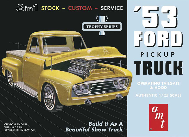 AMT882/12 1/25 1953 Ford Pickup
