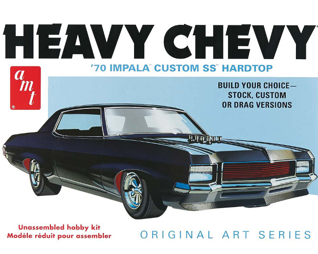 AMT895/12 1/25 1970 Chevy Impala Heavy Chevy Orig Art