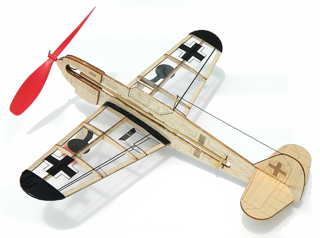Guillows German Fighter Balsa Wood Model Airplane Kit