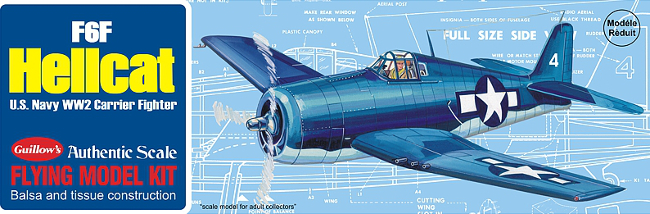 Guillows F6F Hellcat