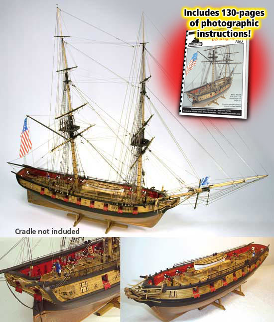 Model Shipways Syren Brig wood ship kit